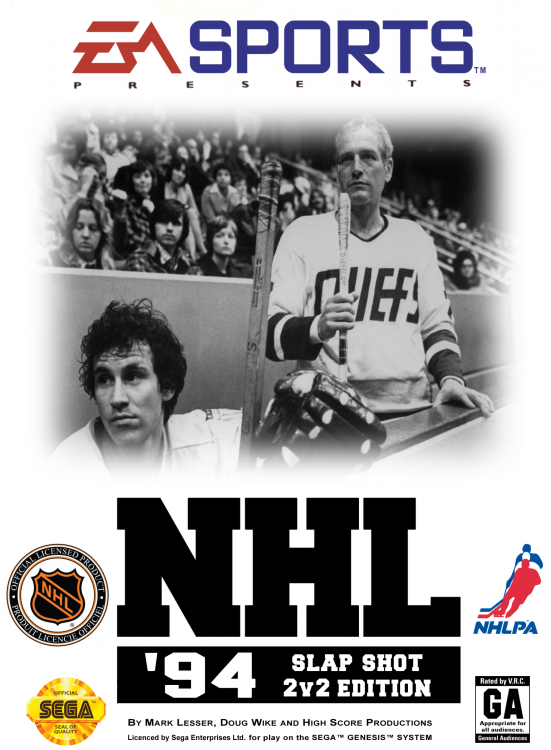 NHL 94 - Alternate Covers - Slap Shot 2V2 Edition (Cover).png
