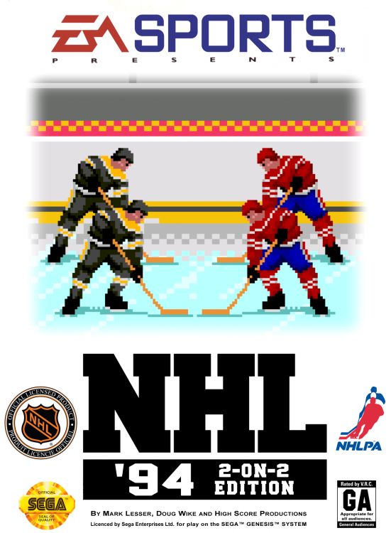 NHL 94 - 2-On-2 Edition (Cover).png