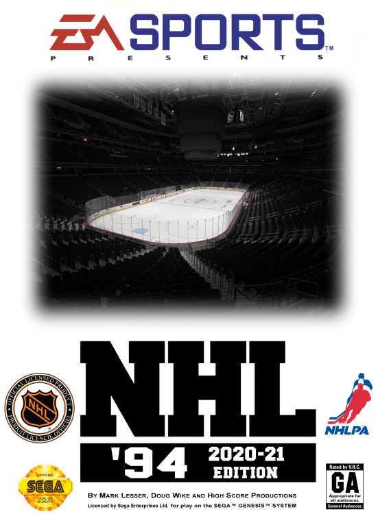 NHL 94 - 2010s Covers - 2020-21 Edition (Way Too Early Edition) (Cover).png