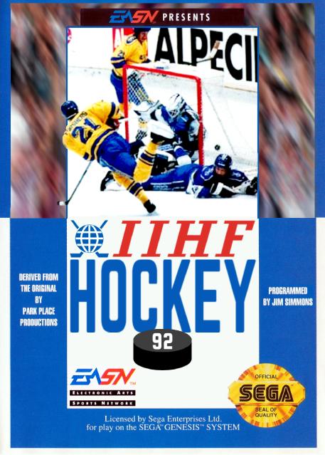 IIHF Hockey '92 Box Art.png