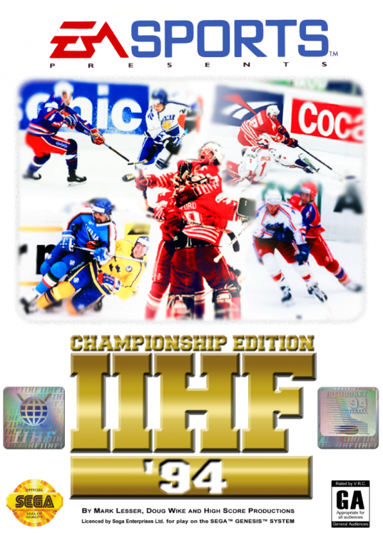 IIHF Hockey 94 Championship Edition Box Art.png