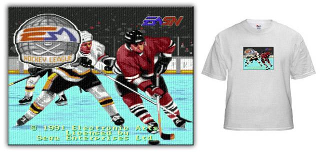 NHL 91 TSHIRTS - EA Hockey ( 91) - NHL 94 Forums 03be1c4b5